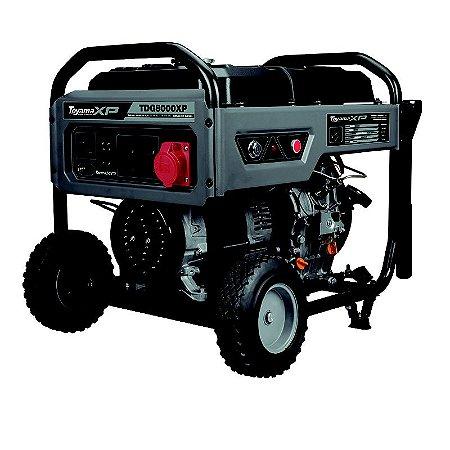 Gerador A Diesel 6000w Tdg8000exp3 - Toyama