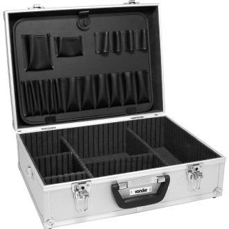 Maleta para ferramentas profissional prata MFV 455 - Vonder
