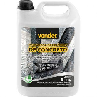 Removedor de residuos de concreto 5 litros - Vonder