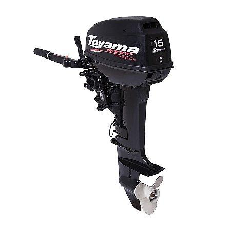 Motor De Popa De Barco À Gasolina Tm15ts 15 Hp - Toyama