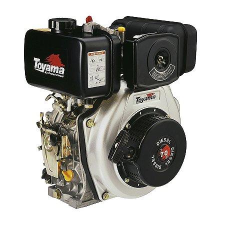 Motor A Diesel 6,7 Hp Td70f - Toyama