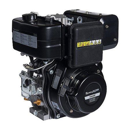 Motor À Diesel 4t 8hp 349cc Partida Manual Tde80-xp - Toyama