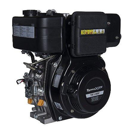 Motor À Diesel 4t 11hp Part. Elétrica Tde120exp - Toyama