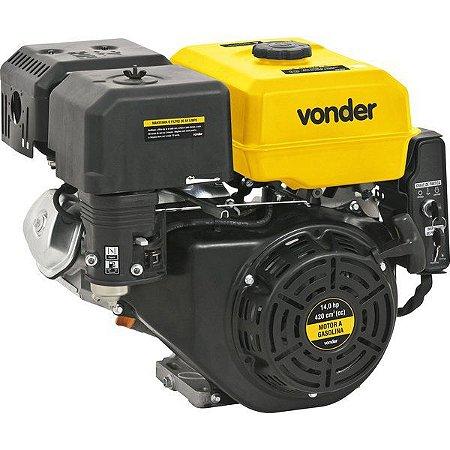 Motor A Gasolina 14.0 Hp 4 Tempos 6.5 Litros - Vonder