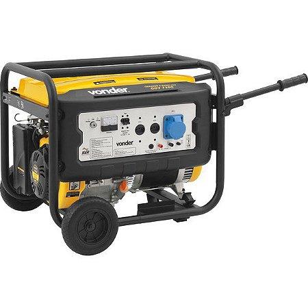 Gerador A Gasolina 15hp Ggv 7100 127/220 V - Vonder