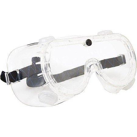 Óculos De Segurança Ampla Visão Com Válvulas - Vonder