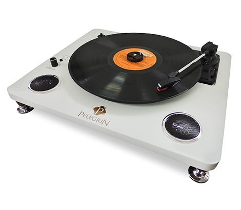 Toca Discos Formato Maleta Pel-103a - Pelegrin