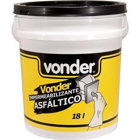 Impermeabilizante Asfáltico 18l - Vonder