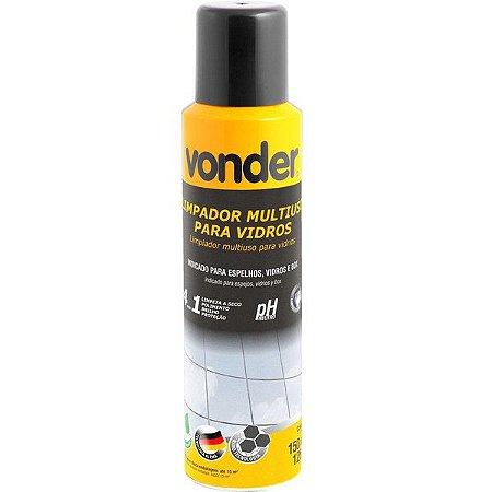 Limpador Multiuso Para Vidros Tipo Spray 4x1 150 Ml Vonder