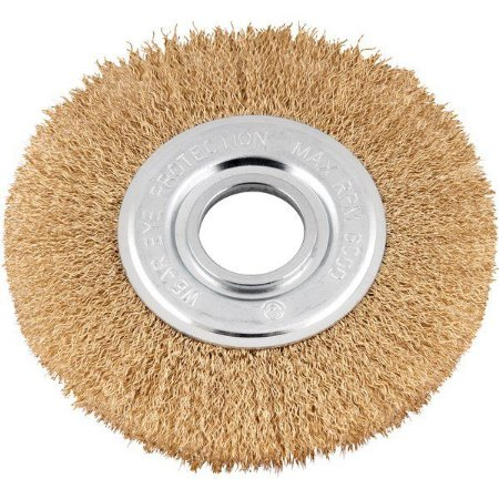 """Escova circular 6"""" x 1/2"""" com bucha de redução Vonder"""