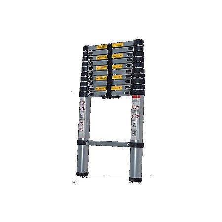 Escada Telescopica Aluminio 1x7 Worker