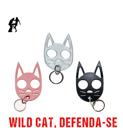 CHAVEIRO DE DEFESA WILD CAT