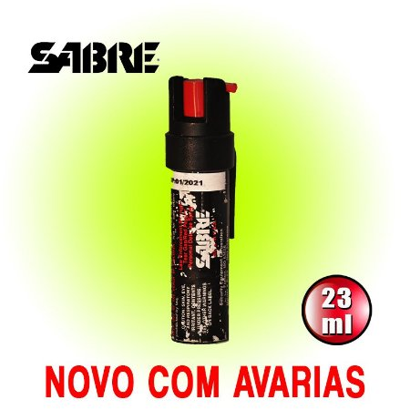 SPRAY DE PIMENTA SABRE