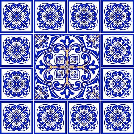Adesivo de azulejo lisboa clean