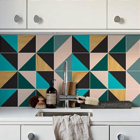 Adesivo de azulejo clean cores