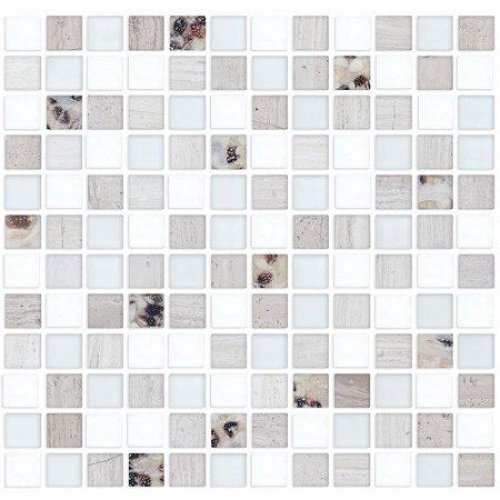 Adesivo de azulejo pastilha mármore