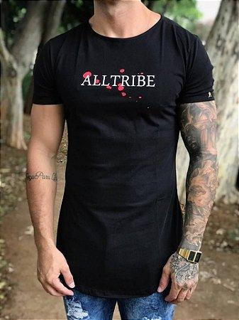 Camiseta Longline Lotus Black - Alltribe - Imperium Store - Shopping ... 6ae1c4fb61ba3