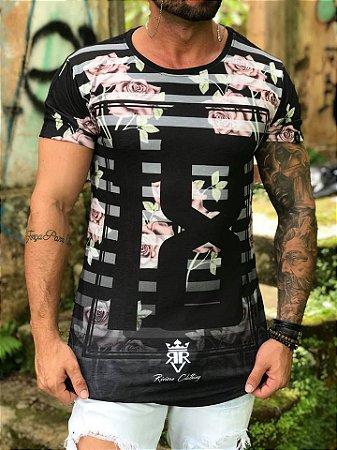 Camiseta Longline 18 Rosas - Riviera Clothing - Imperium Store ... fb092ecbcf