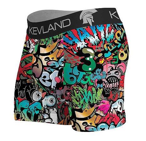 5702ec483dc475 Cueca Boxer Grafite - Kevland