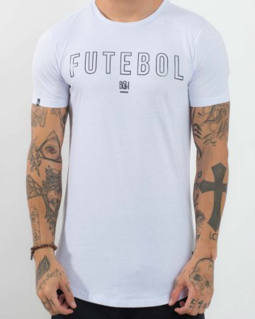 Camiseta Longline Futebol White - Buh - Imperium Store - Shopping ... 8717057381