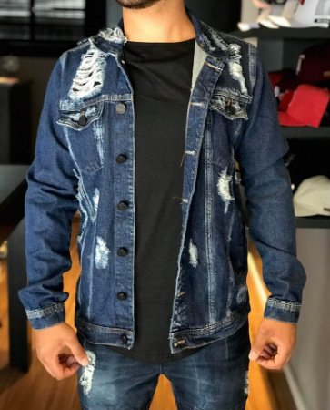574fd713f Jaqueta Jeans Destroyed - Degrant - Imperium Store - Shopping Online ...