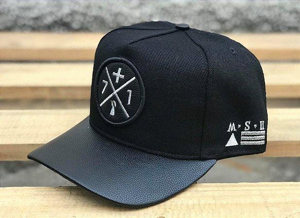 Boné Trucker Mais 71 Black - +71 Clothing - Imperium Store ... a9d1c9f947e