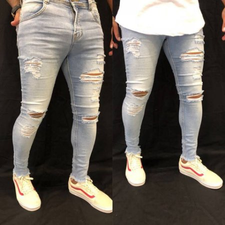Calça Jeans Skinny Strong Hiper Destroyed Clara - Degrant - Imperium ... 8624162d0d