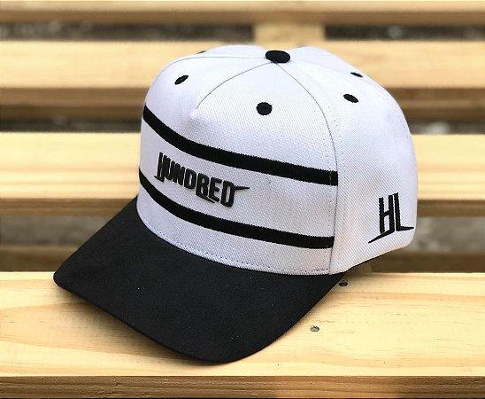 Boné Snapback White Two Lines - Hundred Limit - Imperium Store ... d20c296913a