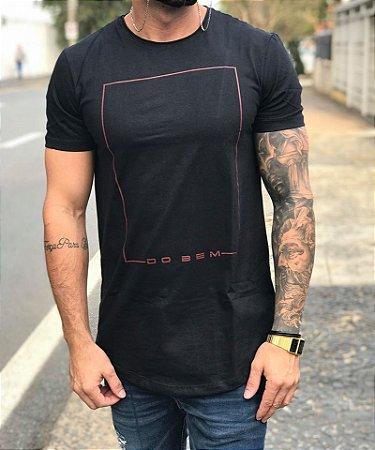 Camiseta Longline Quadro Do Bem - King Joy