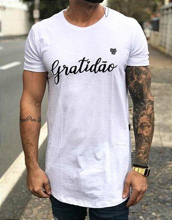 2e938b07c Camiseta Longline Gratidão White - Degrant - Imperium Store ...