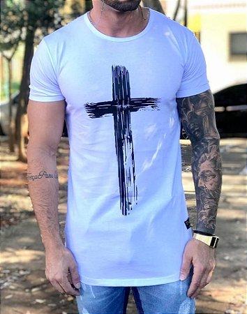 Camiseta Longline Salvation White - The Hope