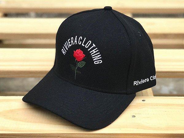 Boné Snapback Rose Black - Rivier Clothing - Imperium Store ... 6ce891114e3