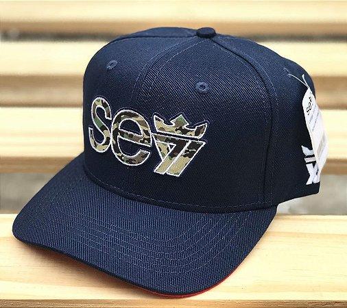 Boné Snapback Camo Marine - Seven Brand - Imperium Store - Shopping ... 9d10728290a