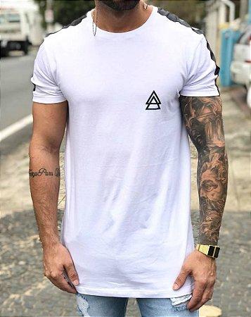 Camiseta Longline White War - La Mafia - Imperium Store - Shopping ... be2a9a54287ed