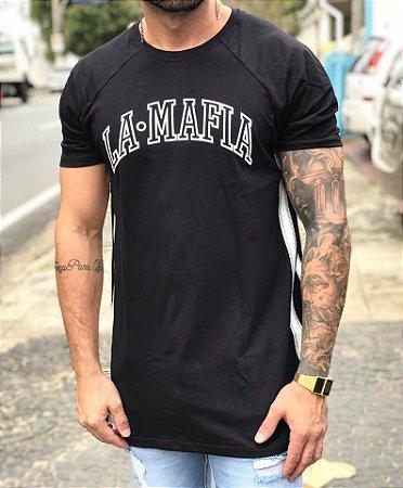 Camiseta Longline Stripes - La Mafia