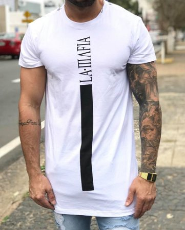 Camiseta Longline White - La Mafia - Imperium Store - Shopping ... 52e53589a6a94
