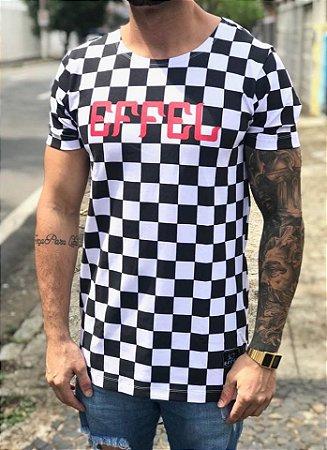 Camiseta Longline Hamilton Grid - Effel Culture