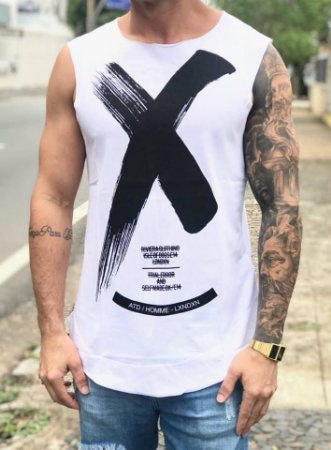 Regata Longline X White - Riviera Clothing
