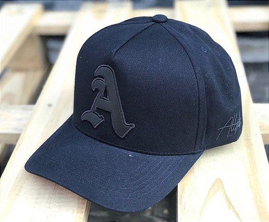 Boné Snapback Aba Curva Black Basic - Alltribe - Imperium Store ... ae176e5a488