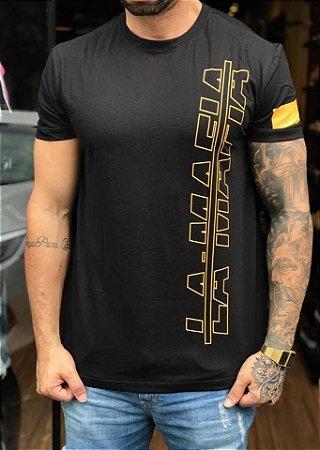 Camiseta Longline Racer Black - La Mafia - Imperium Store - Shopping ... 5040e3283fee1
