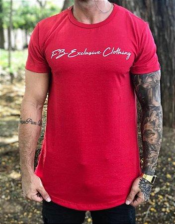 403083f26 Camiseta Longline Signature Red - FB Exclusive Clothing - Imperium ...