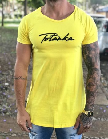 Camiseta Longline Name Yellow - Totanka - Imperium Store - Shopping ... 68ae192665