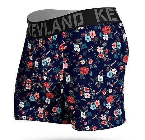 Cueca Boxer Dark Flowers - Kevland