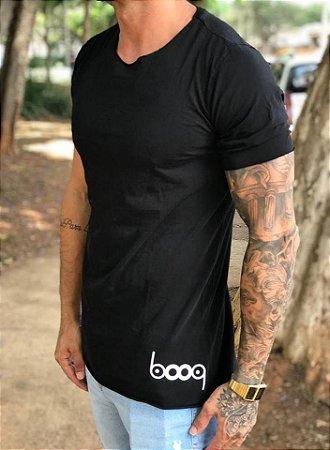 Camiseta Longline Classic Black - Booq For Men
