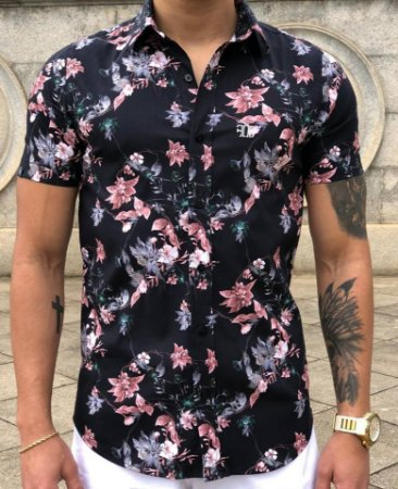 d551699309 Camisa Floral Preta - FB Exclusive Clothing - Imperium Store ...