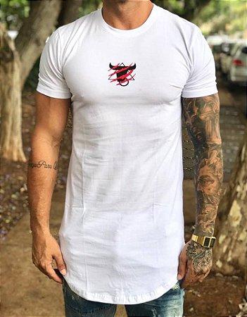Camiseta Longline Tiger White - Totanka - Imperium Store - Shopping ... 1ab75ea706b3d