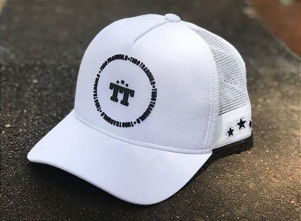Boné Trucker White - Tudo Tranquilo - Imperium Store - Shopping ... 4b75a2bc4e525