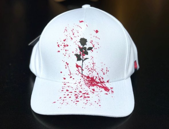Boné Snapback Flower White - The Hope