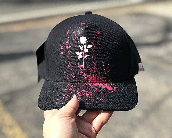 Boné snapback Flower Black - The Hope