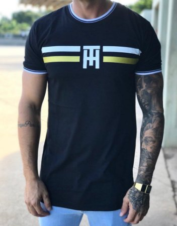 Camiseta Longline WAR Black - The Hope